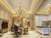 300平金隅乐府法式风格装修效果图,将奢华风情演绎的淋漓尽致