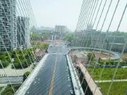 大汉资江城益阳西流湾大桥进入扫尾阶段,预计5月18日通车