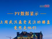 PV数据显示,上周武汉最受关注的楼盘竟然是他们!
