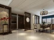 金汇瀚玉城160平新中式风格,古色古香,唯有惊艳可以形容!