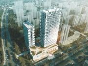 安华·领秀城目前价格待定,项目由A栋商业和B栋住宅组成