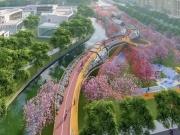 """高新区""""空中绿道""""开建!串联瞪羚谷、铁像寺、锦城湖"""