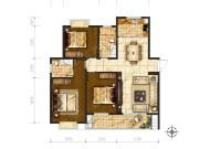 泰和府129㎡三室两厅两卫 | 经典全能户型只为家的幸福