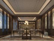 浓淡相宜 展现东方禅味与意境的中式设计装修别墅