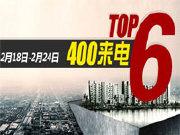 一周楼市来电榜TOP6 群力现房两居入市会展叠跃4388起