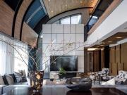 深圳家装设计-深圳装修风格-精致的蓝灰色调,高级有质感