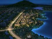 梅龙湖畔纯新盘公开湖境示范区 预计9月底首开叠墅