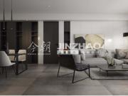 西安海德堡105平三居室现代简约风格设计方案效果图