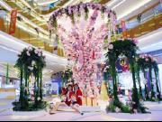 南海万科广场繁花圣诞x芬兰极光之旅亮灯启动仪式