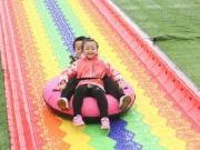 阳光明媚 天气晴好,快来彩虹跑道跑一跑!
