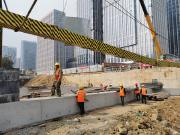 成都轨道交通首批4个项目全部复工!