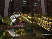 9月新塘河景观亮灯将全线打通 这些地方家门口夜景升级