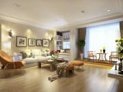 200平米北欧风格四室装修,自然和谐,色彩淡雅