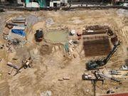 壹方云禧最新工程进展来袭 项目正在地下室开挖中