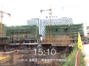 """秋高气爽 共鉴美好""""家""""音 西宁轻奢国际8月工程进度播报"""