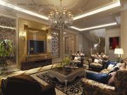金地格林白金院邸别墅装修设计方案
