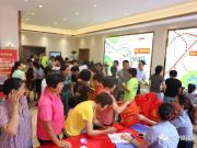 河源百信锦绣新城营销中心盛大开放,点燃忠信市场