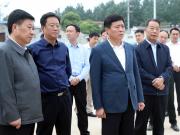 许昌市市长史根治一行调研瑞贝卡大道与阳光大道连通工程
