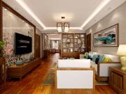 华润装饰-润达国际3室2厅2卫实测使用面积106㎡新中式