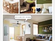 宁波装修案例:双南一厅75平原木风格混搭