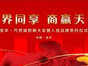 宝丰汽贸城招商签约大会即将盛大开启,特邀您来!
