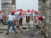 """华新南这个项目又完成一个""""里程碑"""""""