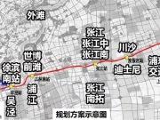 上海首条铁路级轨交线路将动工,七宝连通世界级枢纽