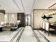 哈尔滨装修设计丨中海紫御观邸·新中式风格丨哈尔滨龙发装饰