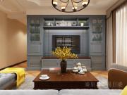 【秦皇岛东易日盛】133平碧桂园简美风格三室两厅装修效果图