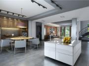 新南路壹号168平别墅项目装修工业风格设计!