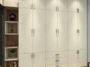 【金色里程】90㎡三居设计,简约黑白尽显时尚生活态度!