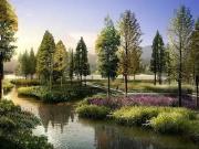 石家庄将新建观光带 自然河流整治四盘利好