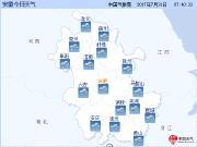 双台风合力赶跑高温 安徽最近三天有明显降水