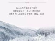 [美的地产]雪很大景很美 别到下雪才羡慕地下车位