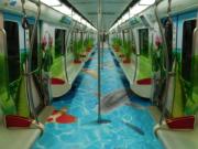 坐沈北地铁全包车,带你游览蒲河