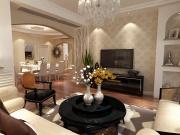 东丽湖北岸别墅4室2厅3卫186㎡简欧风格