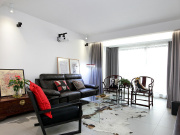 秋怡家园2室2厅1卫95㎡中式混搭北欧