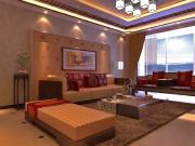 绿洲湾8号4室2厅2卫143㎡中式风格