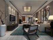 松茂御龙湾3室1厅1卫120㎡现代后现代