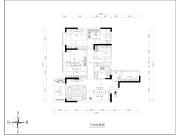 长堤一号3室2厅1卫130㎡欧式