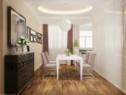 远洋风景3室2厅2卫140㎡现代简约风格案例欣赏