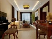 京津一品3室2厅1卫106㎡中式风格