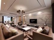 奥加国际公寓3室1厅1卫120㎡现代风格