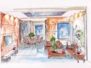 金地翠园4室2厅2卫300㎡中式