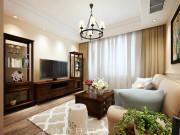中建滨海壹号3室2厅2卫160㎡现代美式