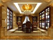 实创装饰-荣尊堡国际俱乐部公寓6室2厅3卫520㎡欧式