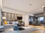 幸福港湾3室2厅1卫120平米现代简约风格
