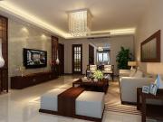 金碧华府3室2厅2卫140㎡现代中式