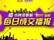 【成交报告】3月14日洛阳住宅成交155套