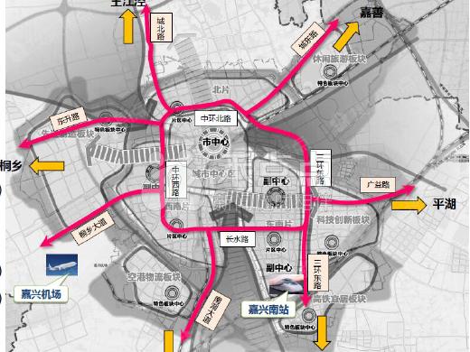 嘉兴市区快速路环线工程今年开工 这些楼盘坐享交通红利